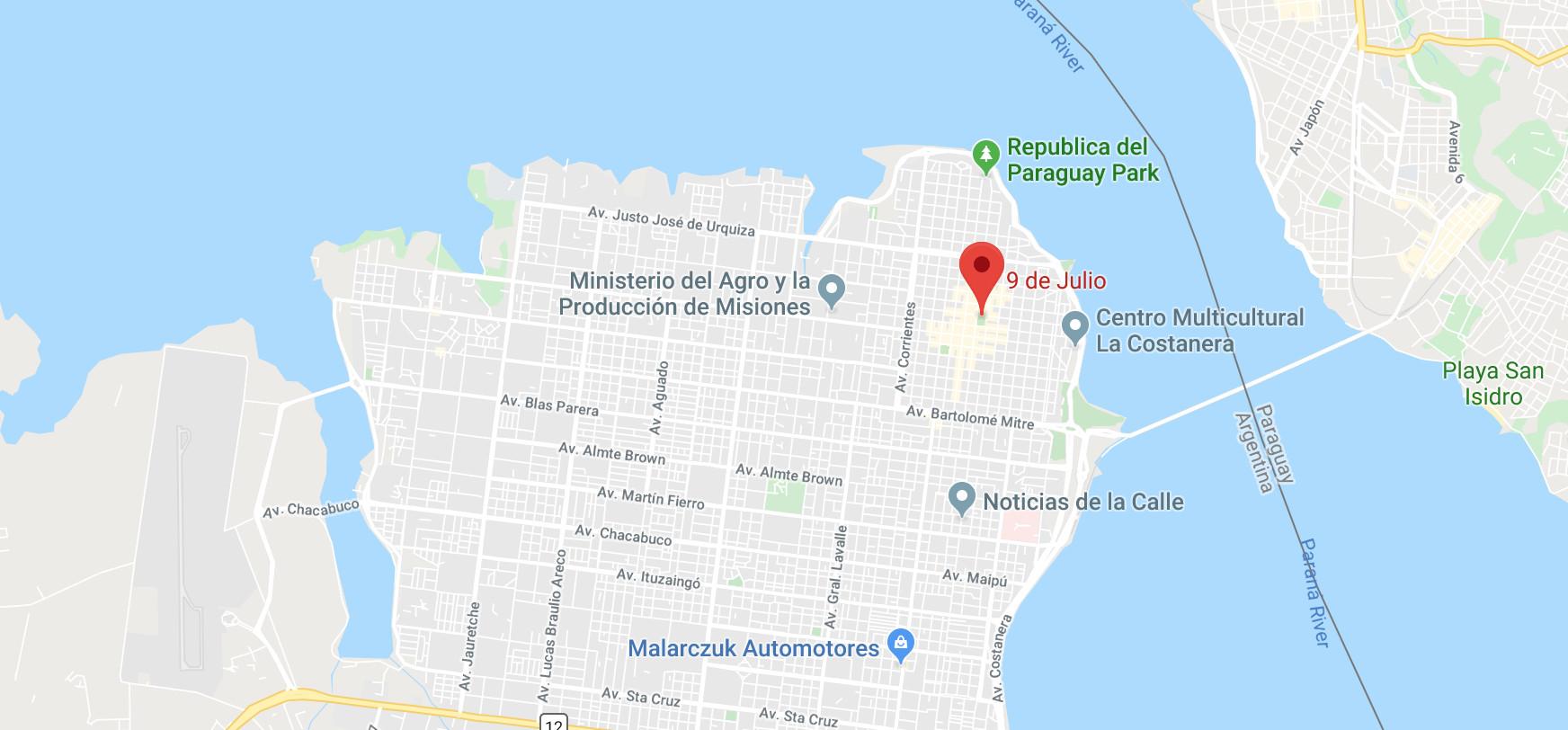 Where to Stay Posadas Argentina